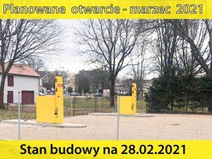 Budowa myjni w Szczecinku