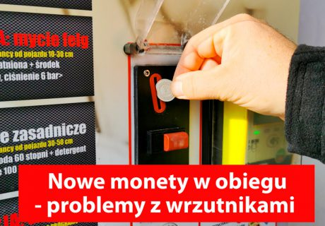 Nowe monety 1 zł w obiegu - problemy