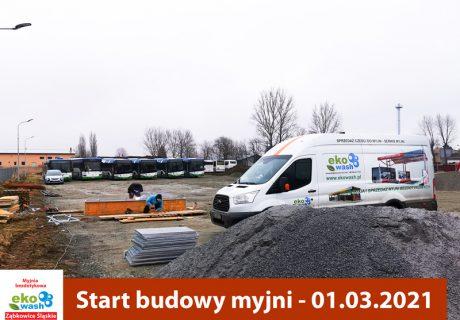 Myjnia specjalistyczna Ząbkowice Śląskie - budowa
